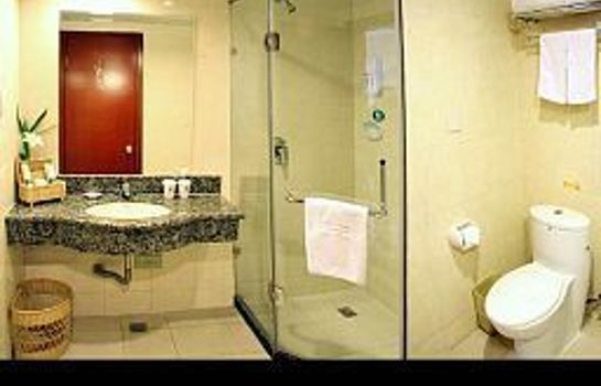 Bagno in camera Green Tree Inn Times Plaza Domestic only