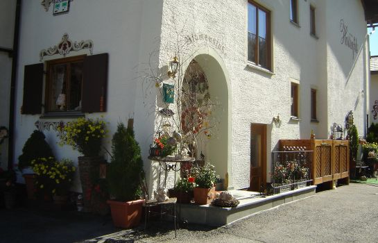 Exterior view Pension Hartenfels