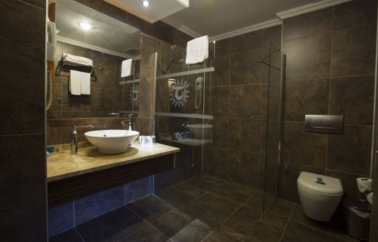 Badezimmer Club Hotel Turan Prince World Club Hotel