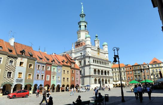 Umgebung Włoski Business Centrum Poznań