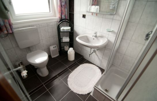 Bagno in camera Pension Haus am See