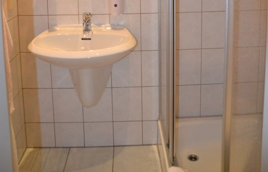 Bagno in camera Altes Teichhaus Gasthof