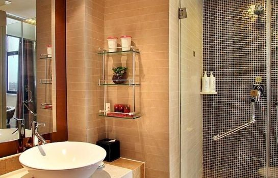 Bagno in camera Shandong Tianfa Shunhe Business Hotel