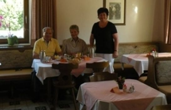 Breakfast room Pension Garni Panorama