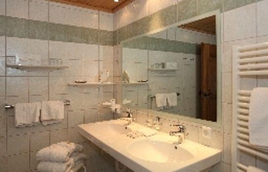 Bathroom Chalet Hotel Senger