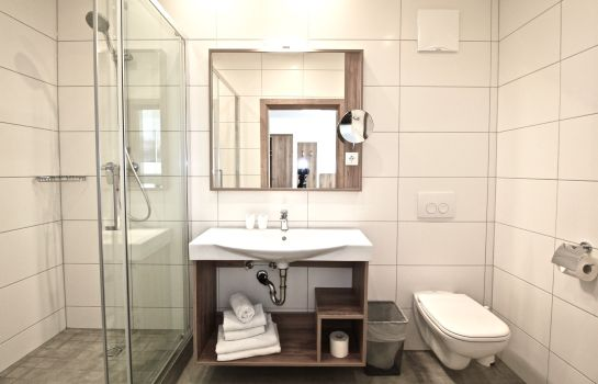 Cuarto de baño Pension Seelos - Alpine Easy Stay