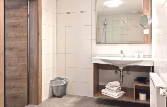 Bathroom Pension Seelos - Alpine Easy Stay