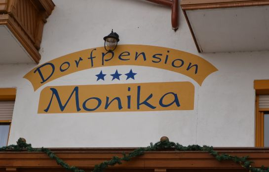 Außenansicht Dorfpension Monika