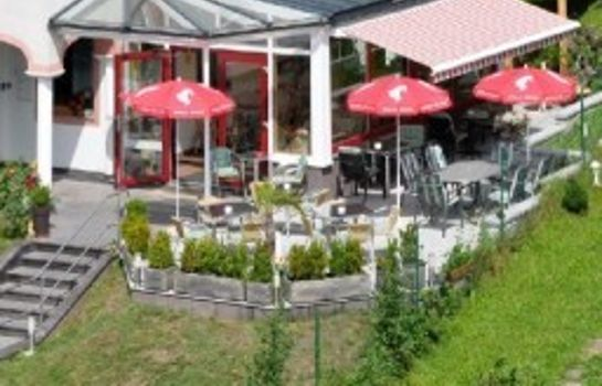 Terrasse Cafe-Pension Familie Parzer