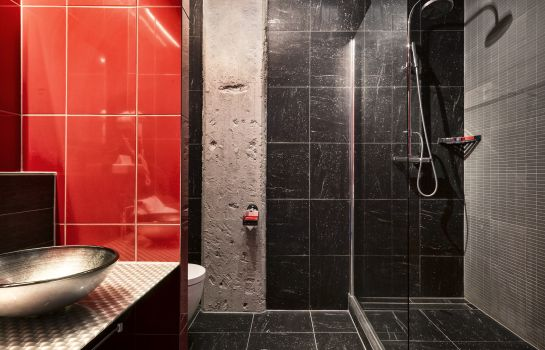 Bagno in camera Inntel Hotels Art Eindhoven