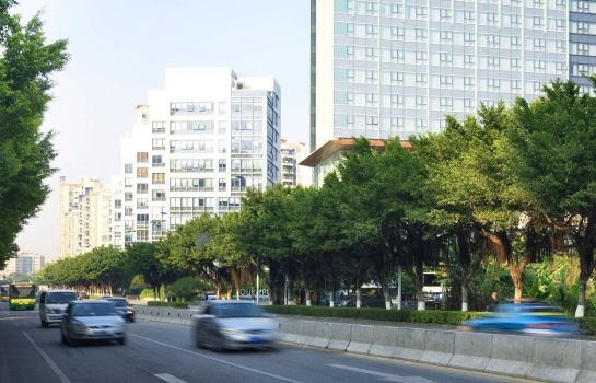 Exterior view Four Points by Sheraton Guangzhou Dongpu