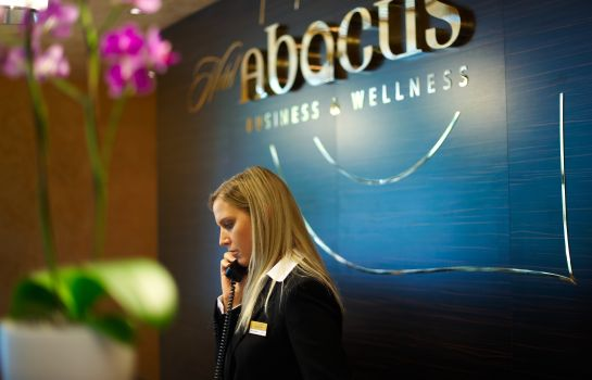 Empfang Abacus Business & Wellness