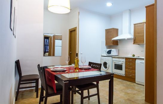 Kitchen in room Living Valencia Edificio Merced