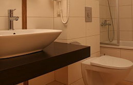 Badezimmer Ararat All Suites Hotel