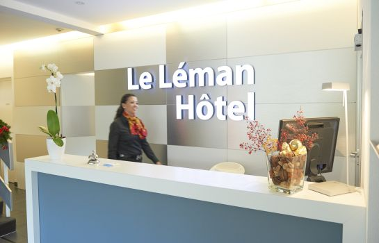 Reception Le Leman Hotel