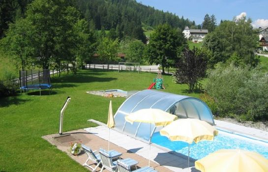 Ogród Pension-Appartement Alpenbad