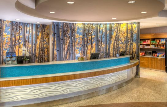 Hotelhalle SpringHill Suites Anchorage University Lake
