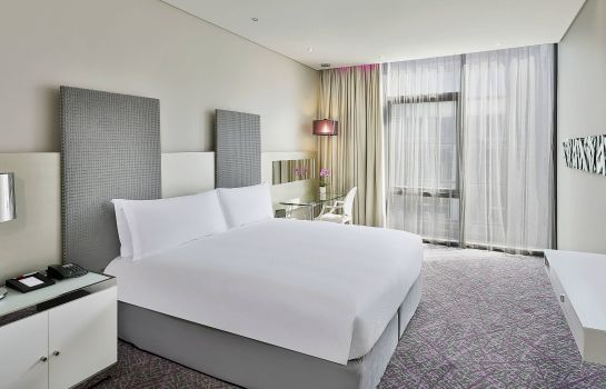 Zimmer Cape Town Marriott Hotel Crystal Towers