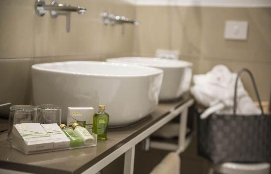 Badezimmer Post Hotel - Tradition & Lifestyle Adults Only