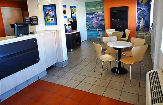 Lobby MOTEL 6 AMARILLO WEST
