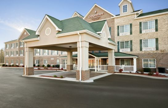 Widok zewnętrzny NC  High Point Country Inns and Suites