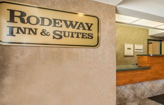 Lobby Rodeway Inn & Suites near Outlet Mall - Asheville