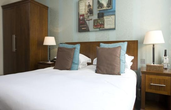 Double room (standard) Hotel du Vin Edinburgh