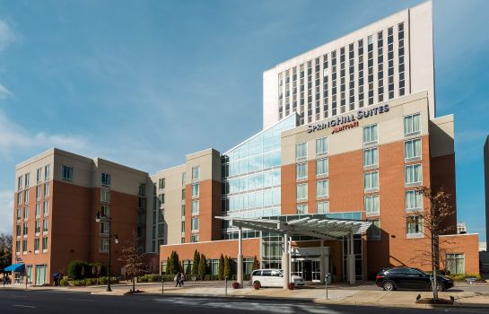Außenansicht SpringHill Suites Birmingham Downtown at UAB