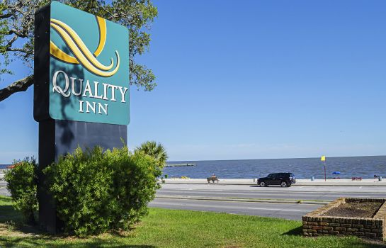 Vista esterna Quality Inn Biloxi Beach