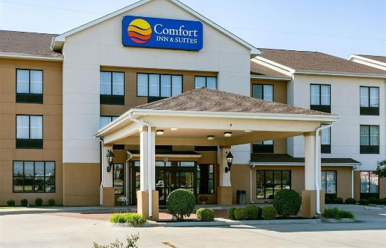 Buitenaanzicht Comfort Inn and Suites Blytheville