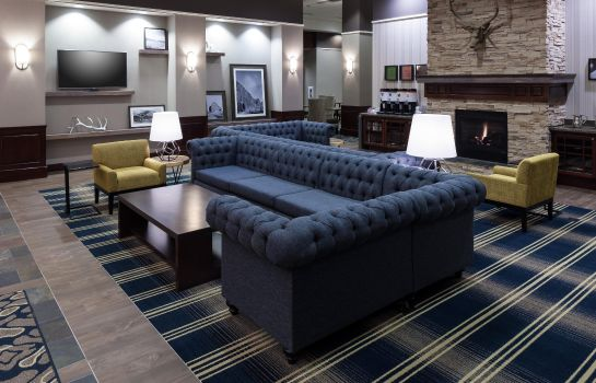 Hotelhalle Hampton Inn - Suites Boise-Downtown