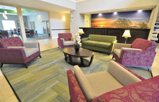 Hol hotelowy La Quinta Inn and Suites Brookshire
