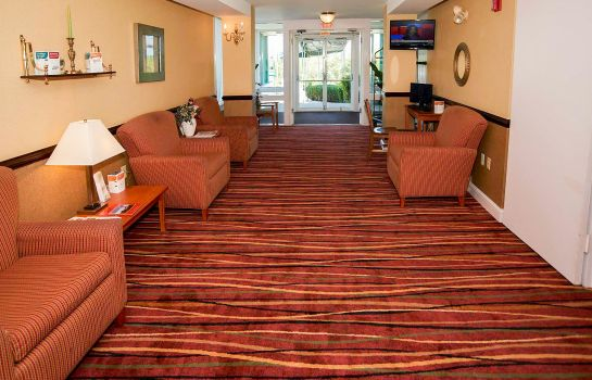 Lobby Quality Inn Bourne