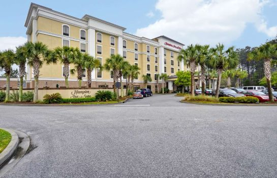 Außenansicht Hampton Inn - Suites North Charleston-University Blvd