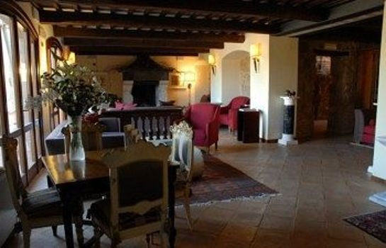 Vista all'interno Sovana Hotel & Resort