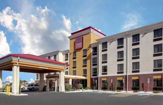 Exterior view Comfort Suites El Paso West