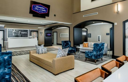 Hotelhalle Hampton Inn - Suites Fort Worth-Fossil Creek