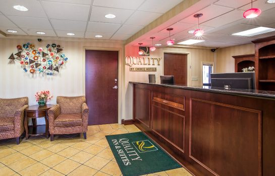 Hol hotelowy Quality Inn and Suites Atlantic City Mar