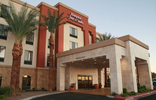 Außenansicht Hampton Inn - Suites Las Vegas South