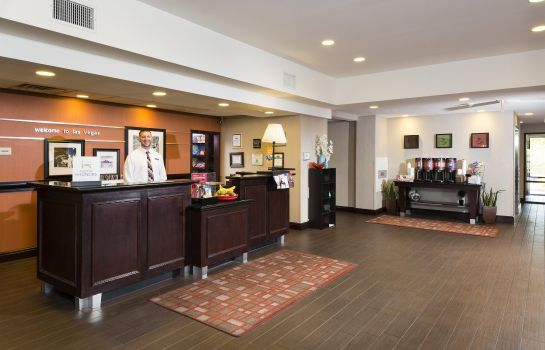 Hotelhalle Hampton Inn - Suites Las Vegas South