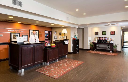 Hall de l'hôtel Hampton Inn - Suites Las Vegas South
