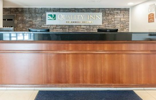Hotelhalle Quality Inn Indianapolis