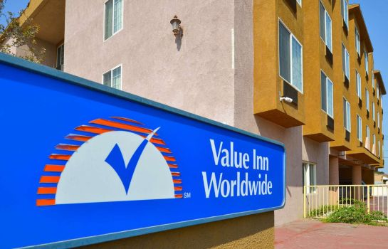 Exterior view Value Inn Worldwide Inglewood