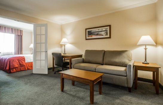 Suite Clarion Inn & Suites at the Outlets of Lake George