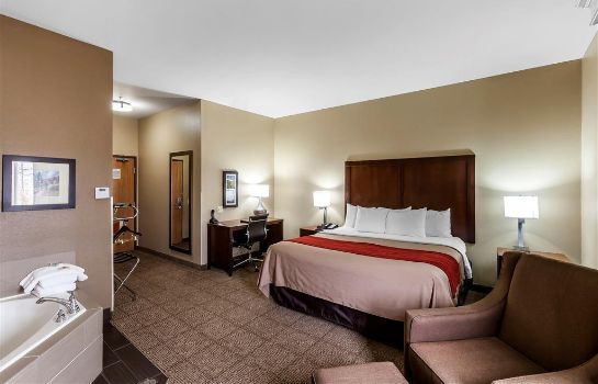 Kamers Comfort Inn and Suites Near University o