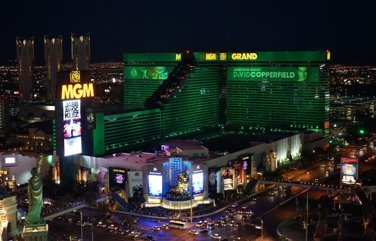 Exterior view MGM Grand Hotel and Casino