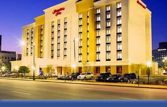 Außenansicht Hampton Inn Louisville Downtown
