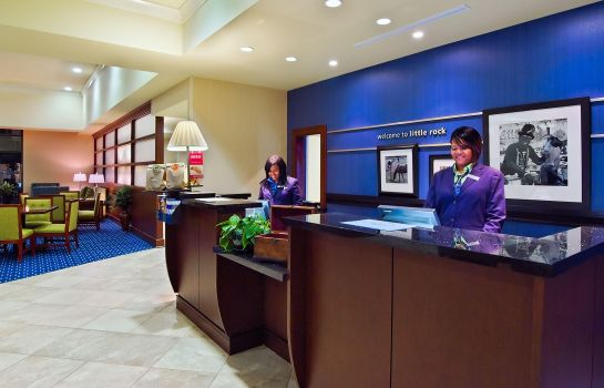Hotelhalle Hampton Inn - Suites Little Rock-Downtown