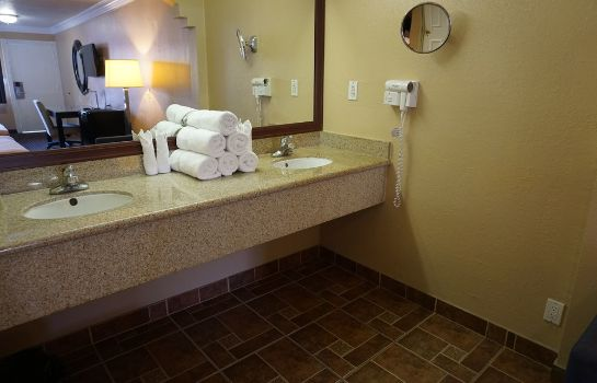 Bagno in camera Hollywood Inn Express South