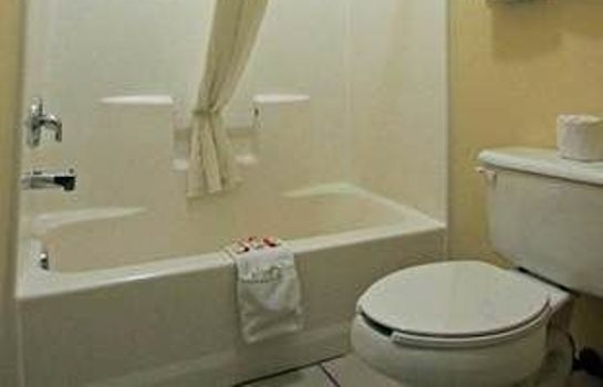 Bagno in camera Texas Inn and Suites McAllen